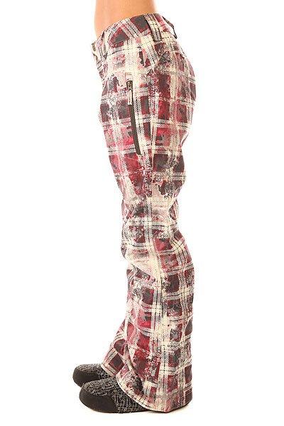Штаны сноубордические женские Oakley Brookside Pant Redwood