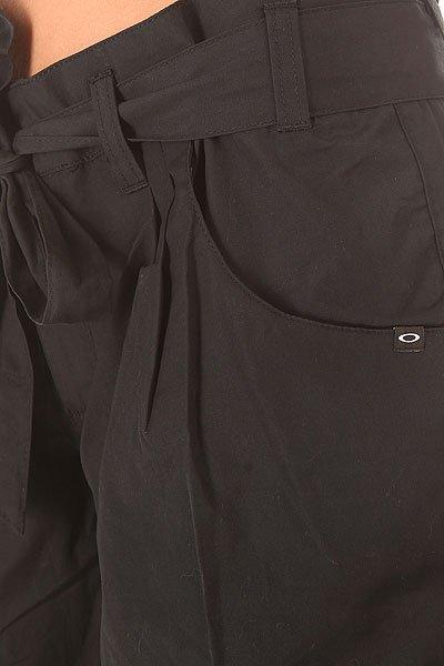 Шорты классические женские Oakley Pch Short Jet Black