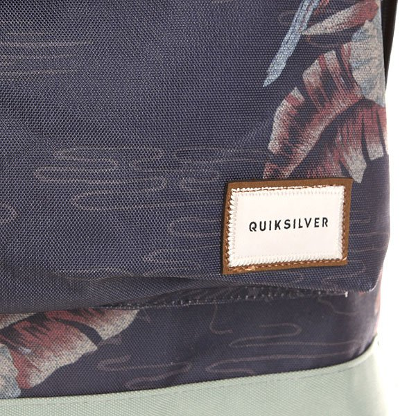 Рюкзак городской Quiksilver Everyday Poster Parrot Jungle Navy
