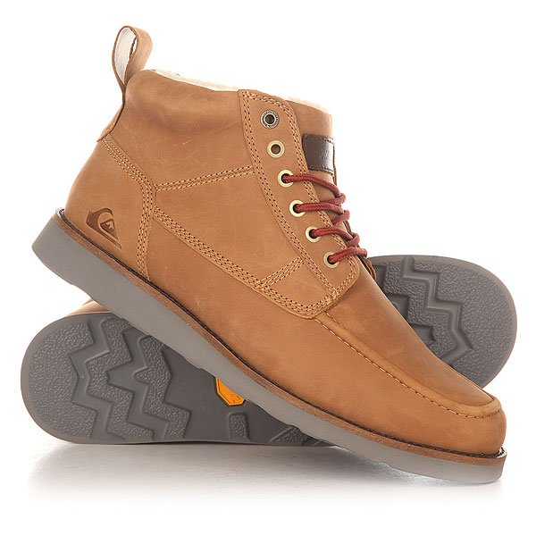 Ботинки зимние Quiksilver Sheffield Tan - Solid