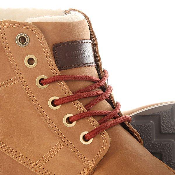 Ботинки зимние Quiksilver Sheffield Tan - Solid