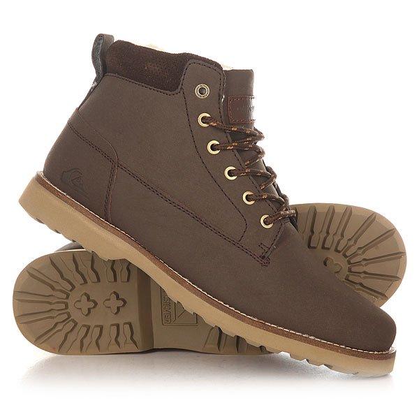 Ботинки зимние Quiksilver Mission Ii Brown