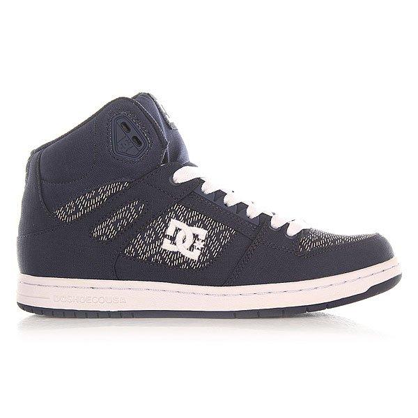 Кеды высокие женские DC Shoes Rebound High Tx Navy