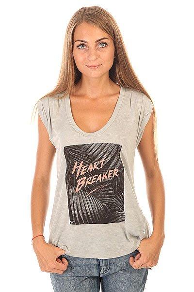 Футболка женская Roxy Barrelbreaker J Tees Heritage Heather