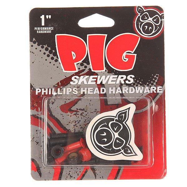 Винты для скейтборда Pig Skewers Red Phillips 1