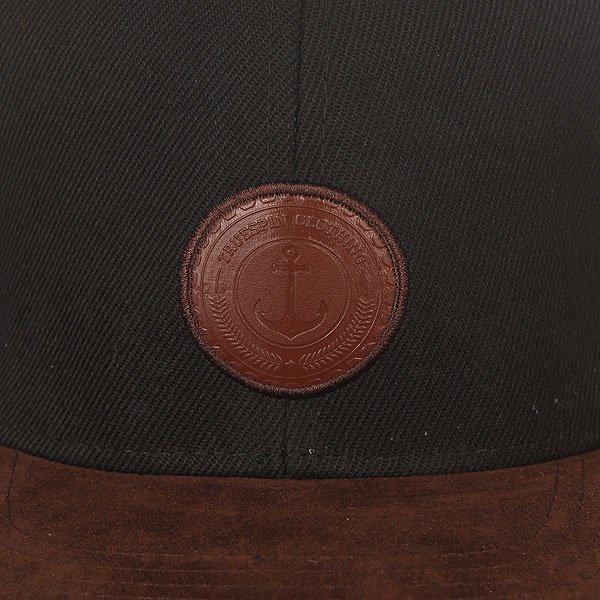 Бейсболка с прямым козырьком TrueSpin Regular Finale Black