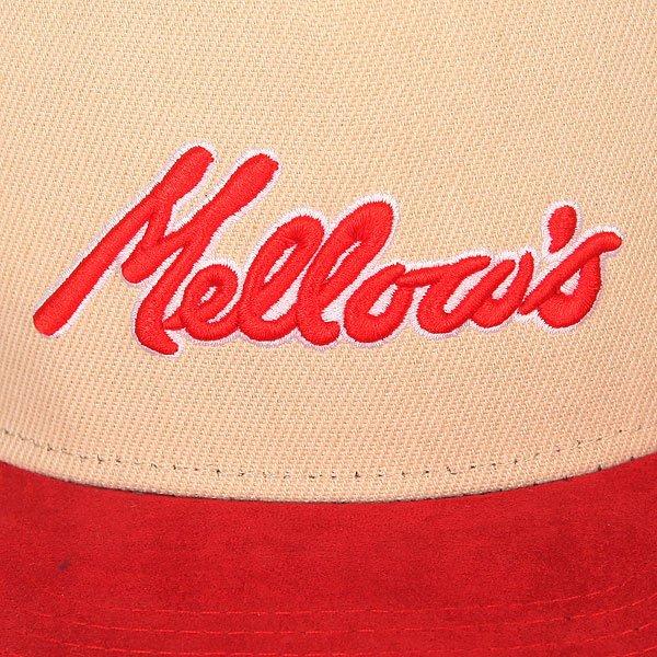 Бейсболка с прямым козырьком TrueSpin Mellows Beige