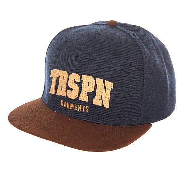 Бейсболка с прямым козырьком TrueSpin Trspn Fleece 02 Navy