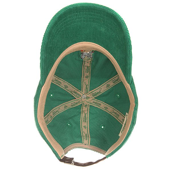 Бейсболка классическая Запорожец Corduory Cap Green