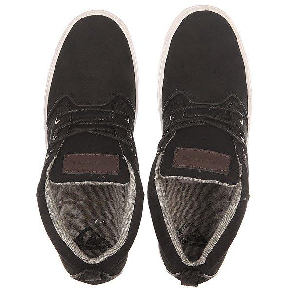 Кеды высокие Quiksilver Griffin Shoe Xkcw Black/Brown/White