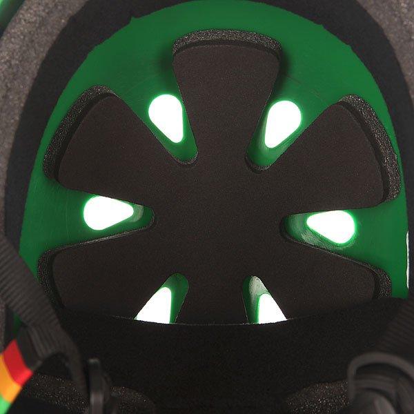 Шлем для скейтборда Pro-Tec Classic Skate Matte Rasta Green