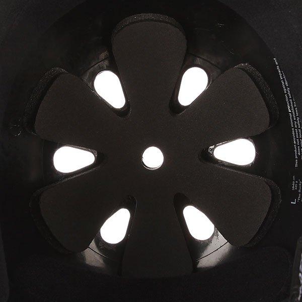 Шлем для скейтборда Pro-Tec Bucky Gloss Retro Black