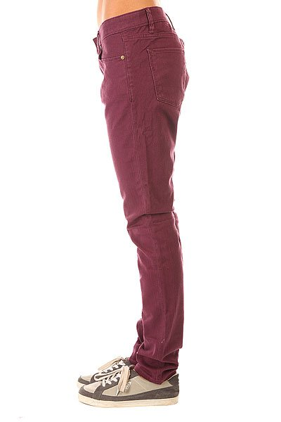 Штаны узкие женские Roxy Suntrippers J Pant Italian Plum