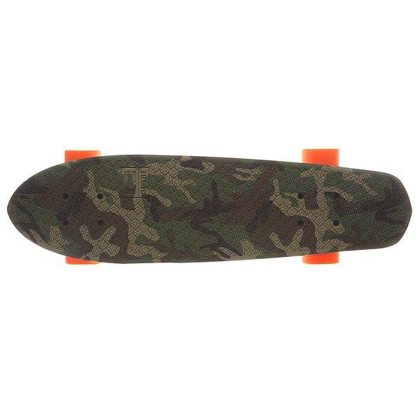 Скейт мини круизер Globe Bantam Graphic Camo/Orange 6.75 x 24 (60.9 см)
