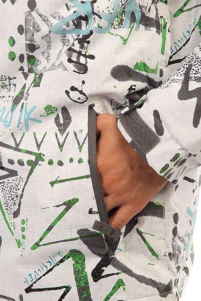 Куртка Quiksilver Mission Print Hieline White