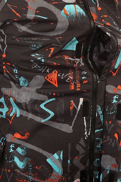 Куртка Quiksilver Mission Print Hieline Blue