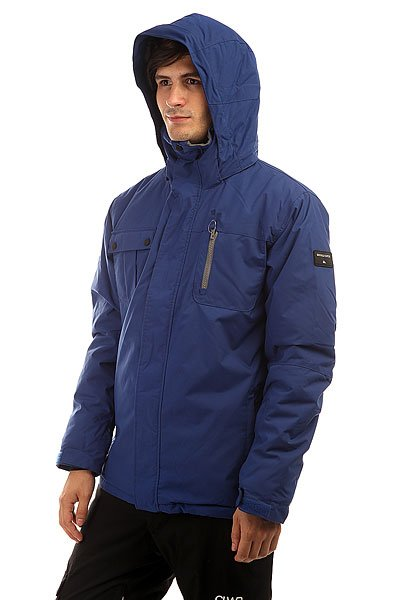 Куртка Quiksilver Mission Solid Sodalite Blue