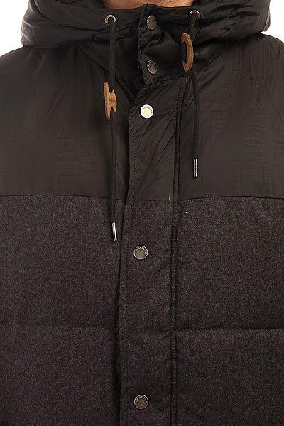 Куртка зимняя Quiksilver Woolmore Dark Grey Heather
