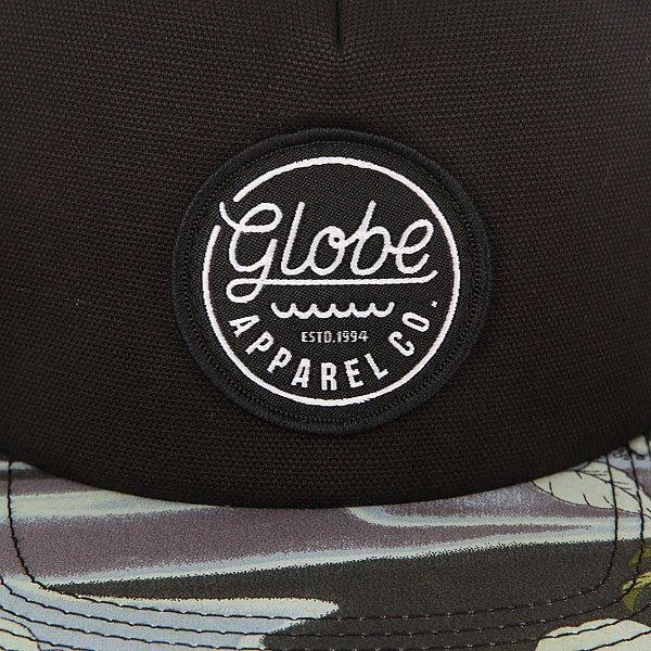 Бейсболка с прямым козырьком Globe Expedition Snap Back Vint