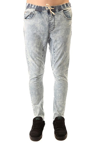 Штаны прямые Globe Select Denim Beach Pant Snow Wash