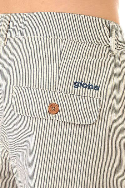 Шорты классические Globe Gopher White/Blue