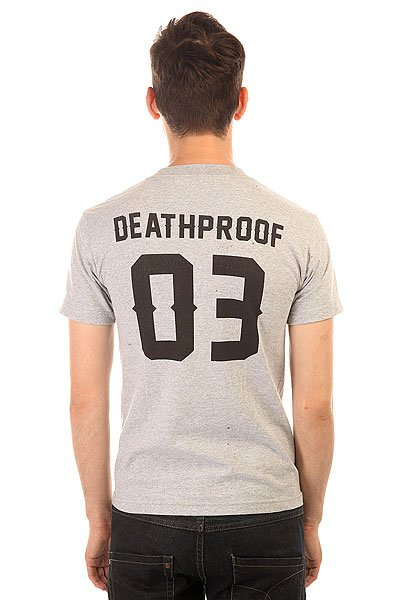Футболка Fallen Deathproof Heat Grey