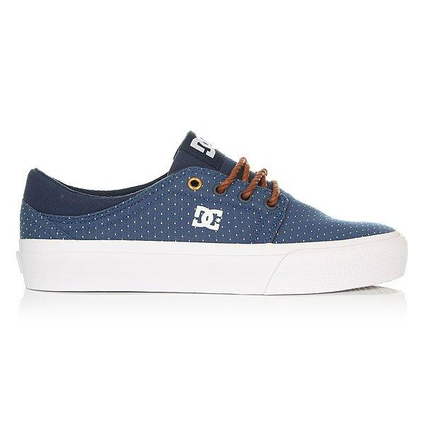 Кеды низкие женские DC Trase Tx Se Blue/Brown/White