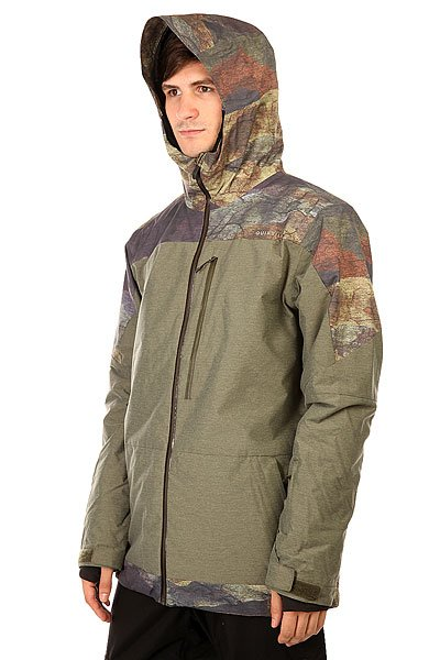 Куртка Quiksilver Tension Jacket Woodland