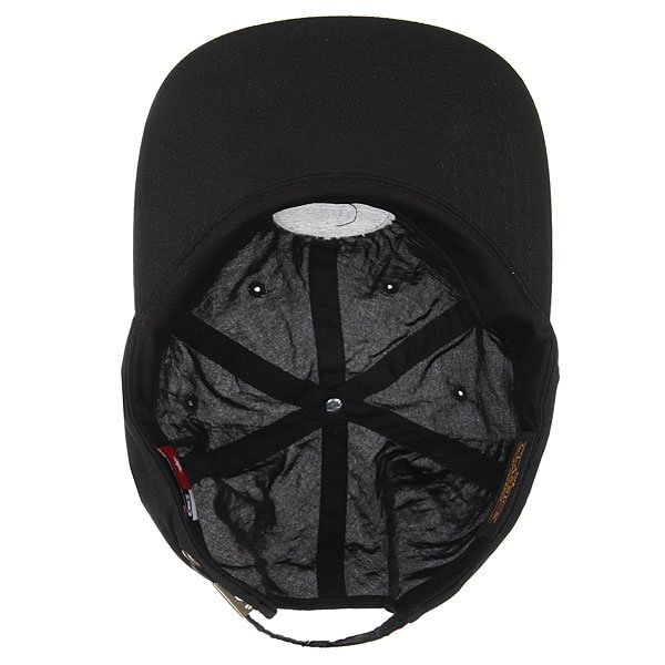 Бейсболка с прямым козырьком DC Sealage Black