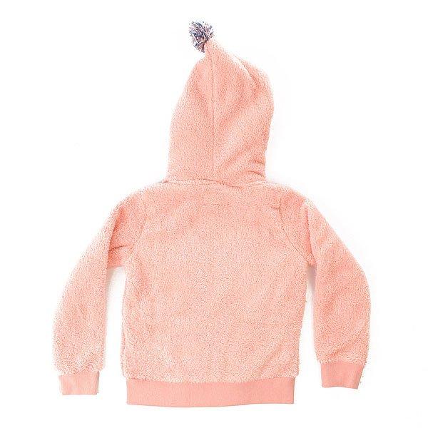 Толстовка утепленная детская Roxy Hangig K Plfl Peach Amber