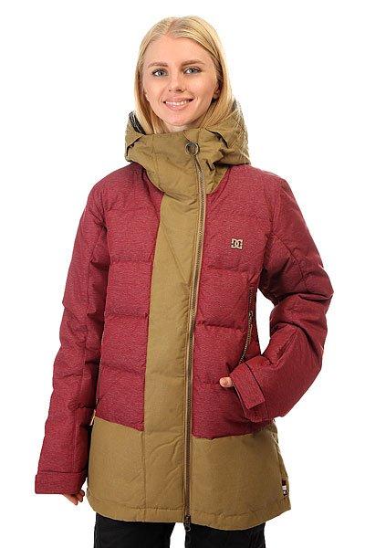 Купить Куртка женская DC Liberty Cordovan Red 1157788