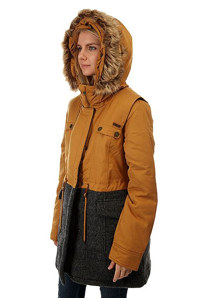 Куртка женская Roxy Anzoras Bone Brown