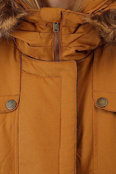 Куртка парка женская Roxy Anzoras Bone Brown
