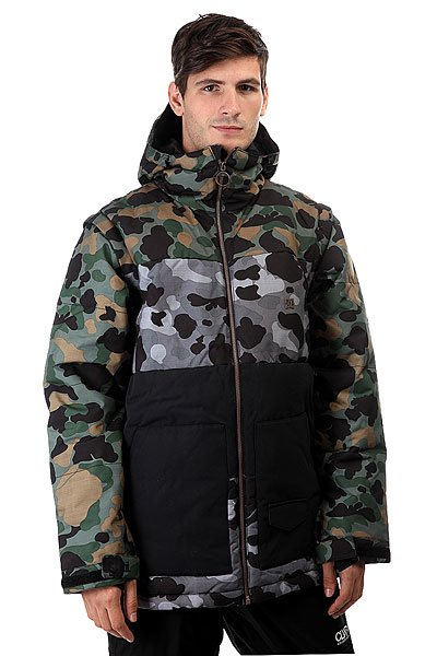 Куртка DC Downhill Camouflage Lodge