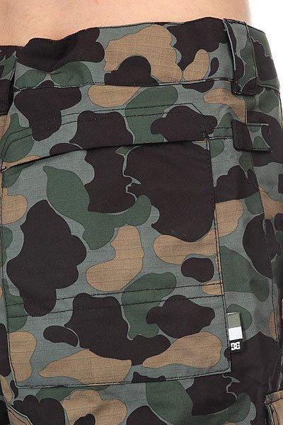Штаны сноубордические DC Code Pnt Camouflage Lodge