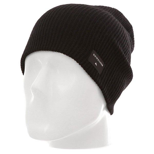 Шапка носок Quiksilver Cushy Slouch M Hats Black
