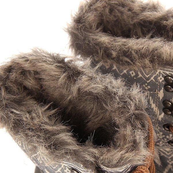 Сапоги зимние женские Roxy Himalaya Charcoal