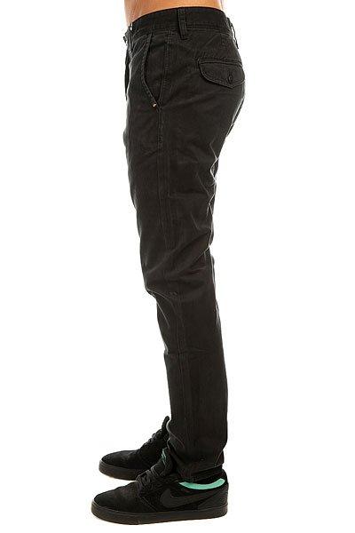 Штаны прямые Quiksilver Everyday Chino Black