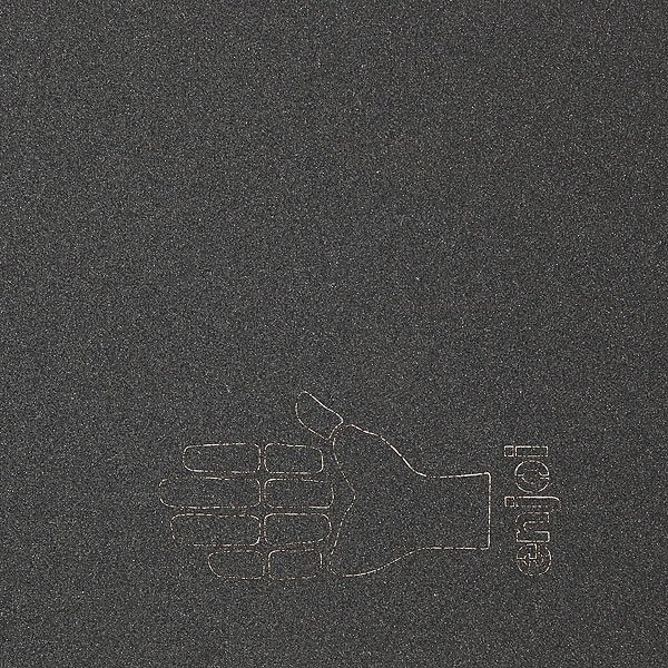 Шкурка для скейтборда Enjoi Hand Sign Die Cut Grip (5-Pack) Black