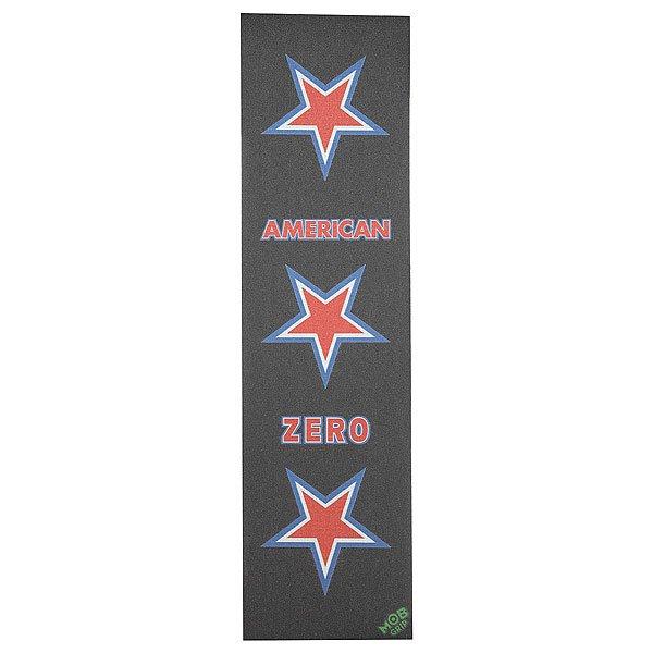 Шкурка для скейтборда Zero American Mob (5-Pack) Black /White