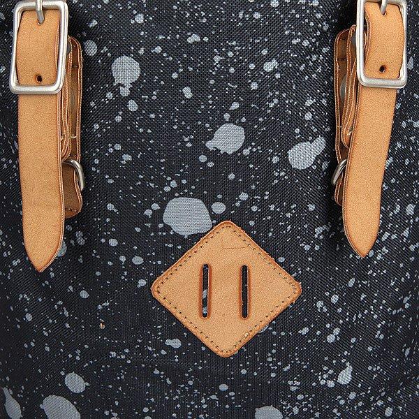 Рюкзак туристический The Pack Society Premium Backpack Black Spatters Allover
