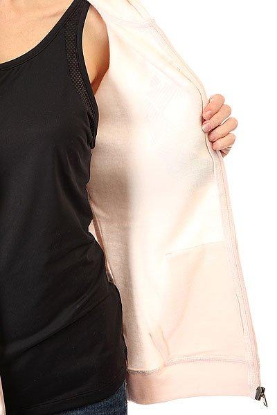 Толстовка классическая женская Roxy Gary Heavenly Pink