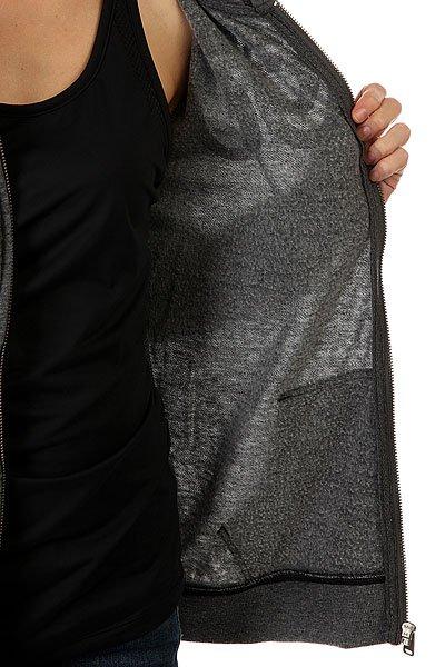 Толстовка классическая женская Roxy Tropicalaloha90 True Black