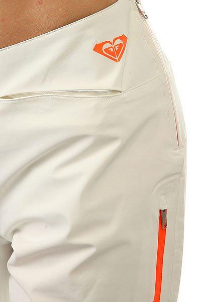 Штаны сноубордические женские Roxy Rxxcourregespt Bright White