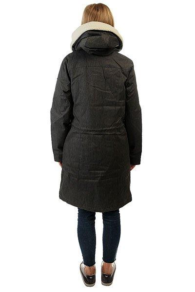 Куртка парка женская Roxy Lucie Charcoal Heather