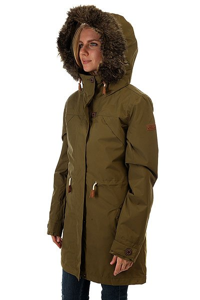 Куртка парка женская Roxy Amy 3n1 Military Olive