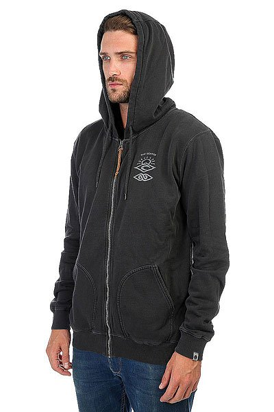 Толстовка классическая Rip Curl Back To The Search Hz Fleece Black