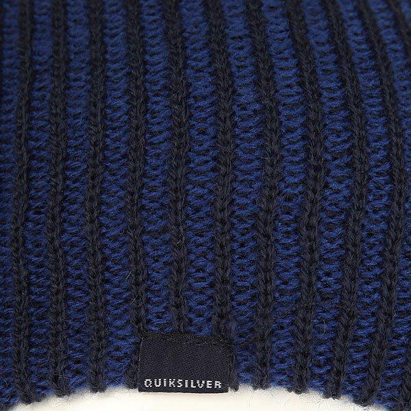 Шапка носок детская Quiksilver Preference Navy Blazer