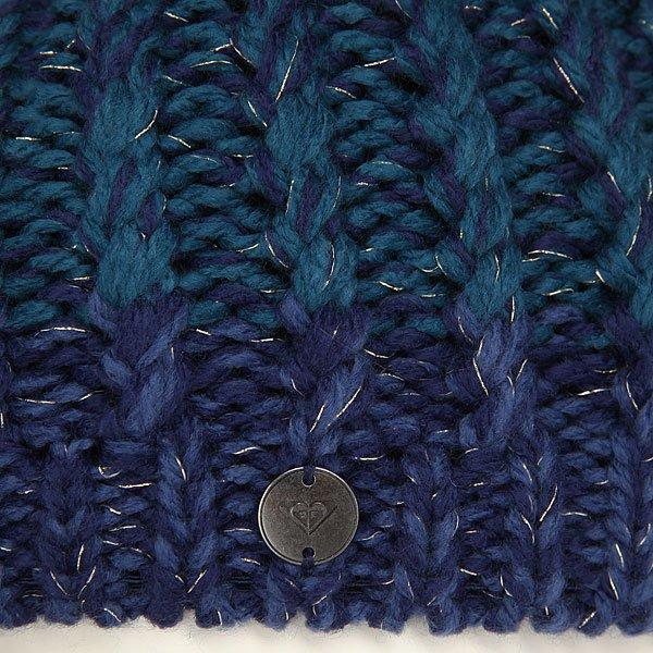 Шапка женская Roxy Polly Bl Blue Print