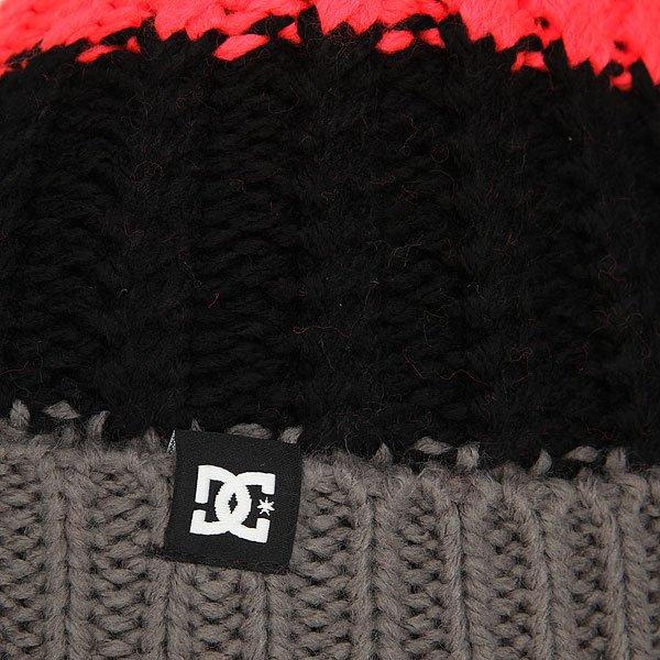 Шапка носок женская DC Elm Fiery Coral